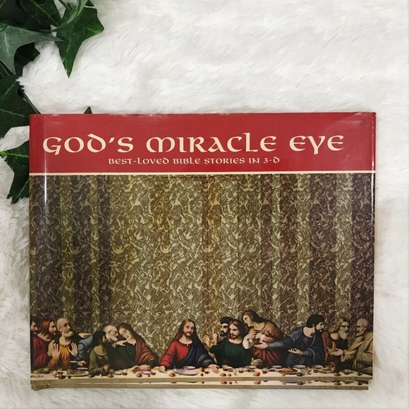 God's Miracle Eye Other - God's Miracle Eye 3D Book